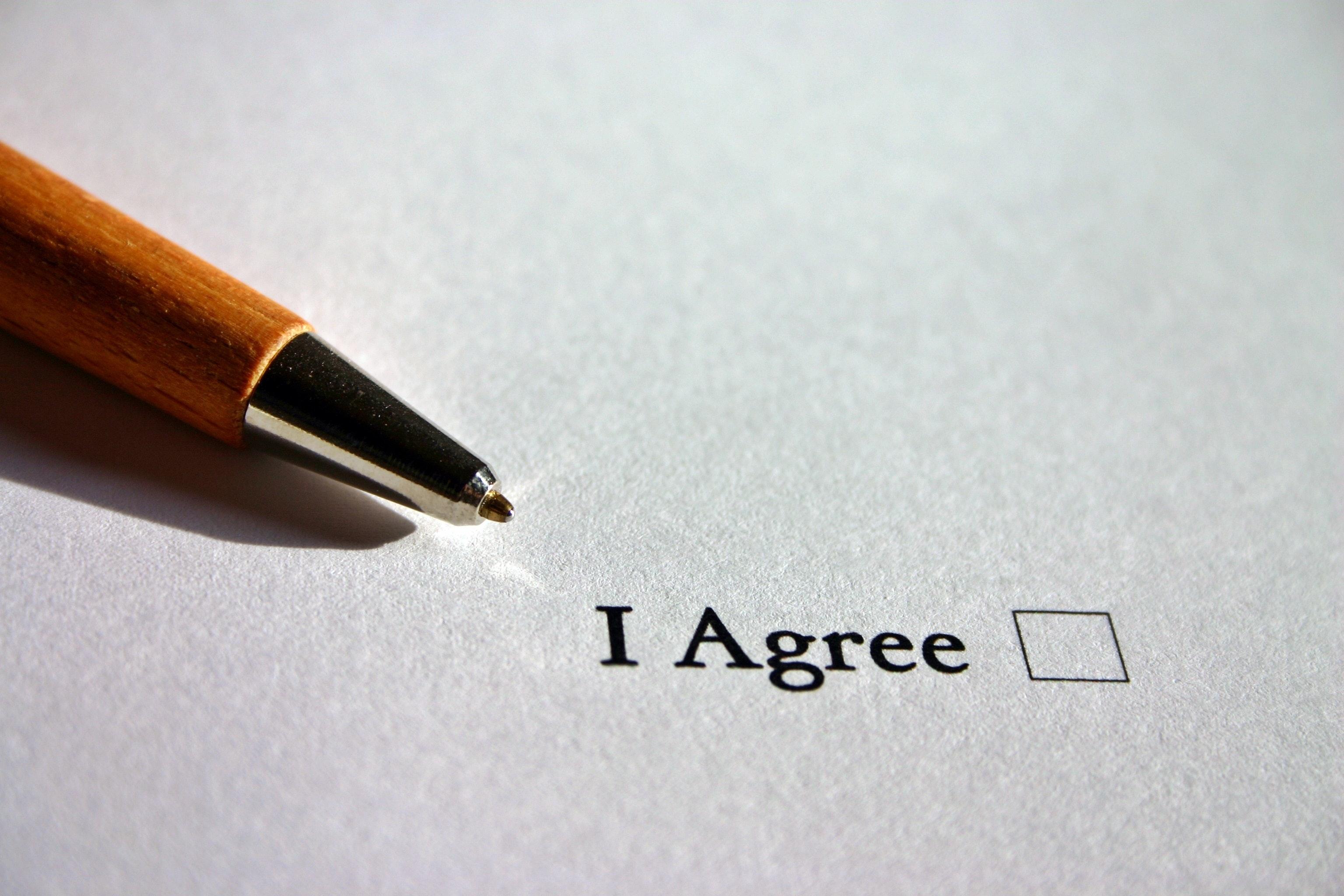Stap 4. De overeenkomst